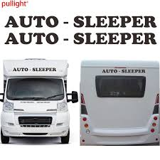2 X Auto Sleeper Motorhome Caravan Travel Trailer Camper Van Kit Decals Car Sticker Wish