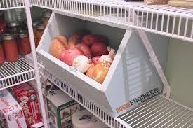 stackable root vegetable storage bin