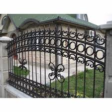 Discount Wrought Iron Fence Metal Modern Steel Fence Design Buy Galvanized Steel Fence Iron Pool Fencing White Wrought Iron Fence Product On Alibaba Com
