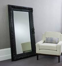 floor mirror with frame ikea black