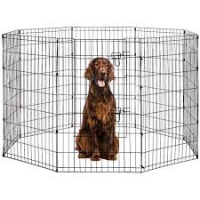 Puppy Cage Puppy Pet Playpen 8 Panel Indoor Outdoor Metal Protable Folding Animal Exercise Dog Fence Dog Cage Dog Pen Puppy Playpen Dog Fence Outdoor Pet Playpen 24 30 36 42 48 Walmart Com Walmart Com