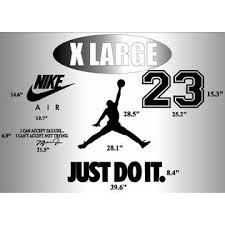 Oracal Nike Just Do It Michael Jordan Jumpman Wall Decal Mural Vinyl Decor Sticker Jump