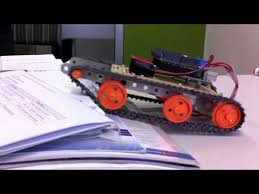 arduino robot with tank tracks you