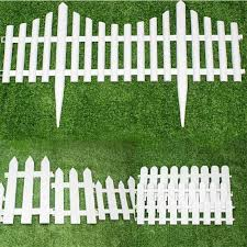 Buy White Plastic Fence Fence Garden Fence Garden Decorative Parterre Garden Nursery Small Fence Fence Fence Christmas In Cheap Price On M Alibaba Com