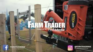 How To Use The Stockade St315i Cordless Batten Fencing Stapler Youtube