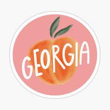 Georgia Stickers Redbubble