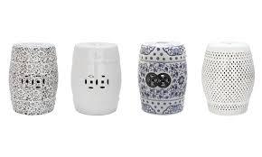 safavieh ceramic garden stool groupon