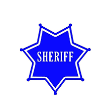 7 Point Star Sheriff Star Badge Sheriff Badge Vinyl Decal Etsy Star Badge Vinyl Decals Stainless Steel Cups