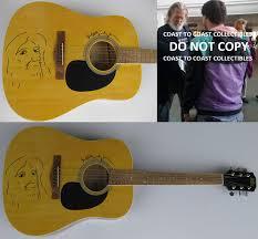 Jeff Bridges signed autographed guitar ...