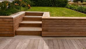 wood retaining wall cladding google