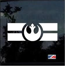 Star Wars Rebel Alliance Flag Window Decal Sticker Custom Sticker Shop