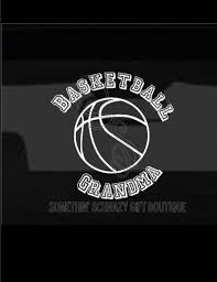 Basketball Grandma Sport Decal Window Decal Car Decal Car Etsy