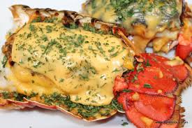 Bacon Stuffed Lobsters with Cheese ...