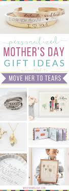 19 unique personalized gifts for mother