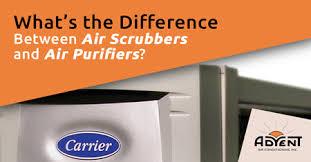 an air scrubber and air purifier