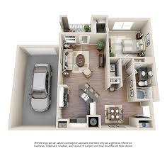 three bedroom luxury apartments