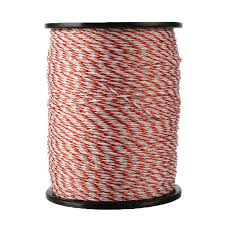 500m Roll Electric Fence Poly Wire Rope Stainless Steel Farm Garden Animal Enclosure Tool Shopee Philippines