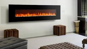 wall hung electric fireplaces modern