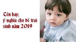 Tổng hợp những tên hay và ý nghĩa cho bé trai sinh năm Kỷ Hợi 2019