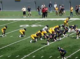 WVU 2009 spring game Wes Lyons tough TD catch - YouTube