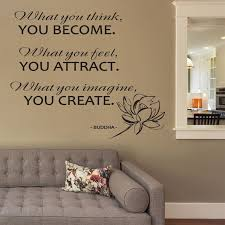 Top 9 Most Popular Wall Art Quotes Buddha List And Get Free Shipping A392