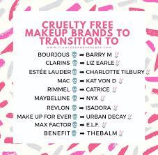 vegan and free makeup brands