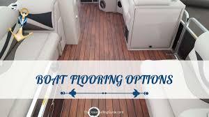 boat flooring options most deled