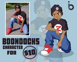 create boondocks cartoon for you by