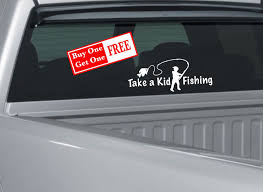 Kid Fishing Decal Fishing Sticker Fisherman Sticker Etsy In 2020 Fishing Decals Boy Fishing Kids Fishing