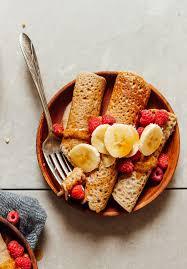 vegan gluten free buckwheat crepes