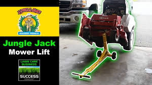 jungle jack mercial lawn mower jack
