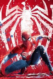 spiderman paint art wallpaper