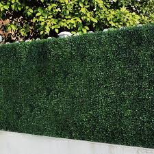 6 Piece Artificial Boxwood Hedges Greenery Panel Privacy Fence Screen For Outdoor Wall Home Decoration Walmart Com Walmart Com