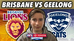 Brisbane Lions vs Geelong Cats Live ...