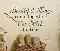 Sewing Room Decorating Ideas Cook Clean Craft Sewing Room Decor Sewing Quotes Quilting Room