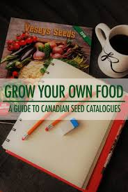 canadian seed catalogue