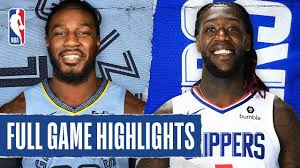 GRIZZLIES at CLIPPERS | FULL GAME HIGHLIGHTS