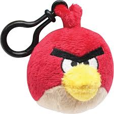 Amazon.com: CWT Angry Birds Red Bird Backpack Clip: Clothing