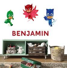 Custom Personalised Name Kids Wall Stickers Decal Decor Catboy Catboy Owlette Ebay