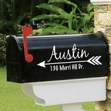 Mailbox Decals The Artsy Spot