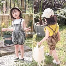 Set quần yếm cho bé gái dễ thương – DoChoBeYeu.com