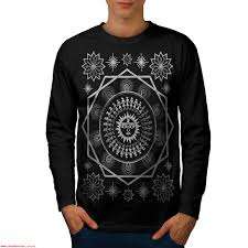 men blacklong sleeve t shirt wellcoda 839