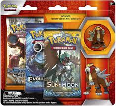 Pokemon Trading Card Game Legendary Beasts Entei Pin Collection 3 Booster  Packs Pokemon USA - ToyWiz