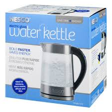 qt electric glass water kettle
