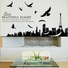 The Love Beautiful Flight Quote Wall Sticker Art Decals