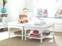 beach style coffee table coastal