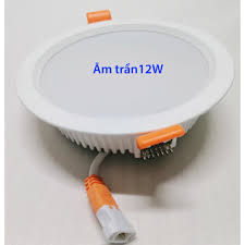 Đèn LED âm trần 9W - 12W, chiếu sáng văn phòng, nhà ở, khách sạn, căn hộ, hành  lang chung cư