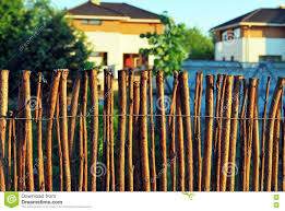 Fence Of Sticks Stock Photo Image Of Construction Branch 73191142
