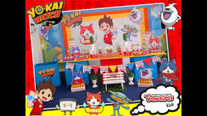 Decoracion Yokai Watch Shows Infantiles Travesuras Kids Youtube