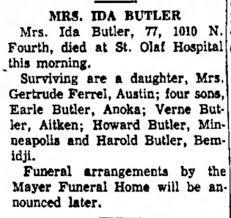 Ida Munson - Newspapers.com